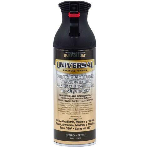 Spruzzo Universale Opaco Rust-Oleum 400ml | nero - nero