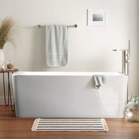 Vasca da Bagno Freestanding dal Design Classico in Resina Andro
