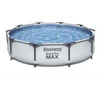 Piscina fuoriterra rotonda Bestway Steel Pro Max 305x76cm 56406
