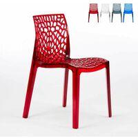 Stock 20 sedie polipropilene colorate impilabile GARDEN