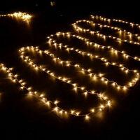 SOEKAVIA 100M 600 LED Guirlande Lumineuse Carnaval Mariage Extérieur Jardin Intérieur Éclairage DE