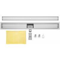 Caniveau de douche 70cm bp01 - Profile de Tuile - evacuation d eau - siphon de sol - acier inoxydable - acier inoxydable
