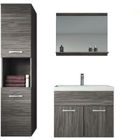 Bathroom Furniture Model White Rome 150 Cm 741511 30