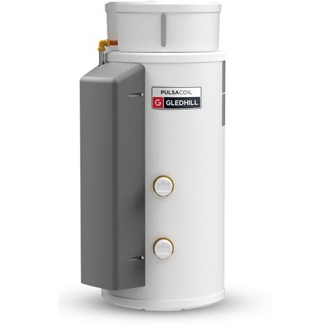 Gledhill PulsaCoil Stainless Thermal Store Cylinder Left Hand Connections 150 Litre