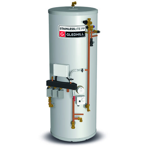 Gledhill Stainless Lite System Plus Indirect Unvented Cylinder 180 Litre