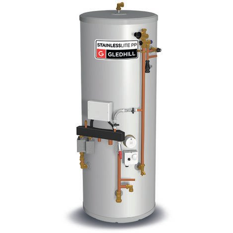 Gledhill Stainless Lite System Ready Indirect Unvented Cylinder 210 Litre