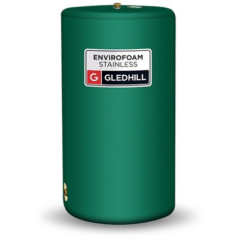 Gledhill Envirofoam Indirect Vented Stainless Steel Cylinder 140 Litres