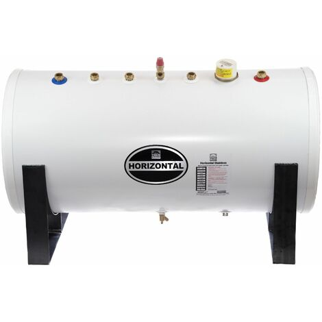 Telford Tempest 300 Litre Stainless Steel Indirect Unvented Horizontal Cylinder