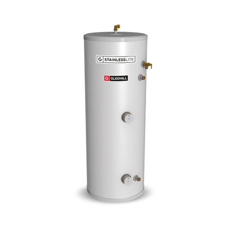 Gledhill 90 Litre Stainless Lite Plus Direct Unvented Cylinder