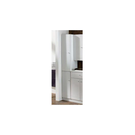 Eastbrook Bonito Tall Cupboard 2 Door LH 1800mm x 302mm White