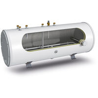 Gledhill Stainless Lite Plus Solar Horizontal Indirect Unvented Cylinder 180Litre