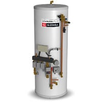 Gledhill Stainless Lite Pre-Plumbed Indirect Unvented Cylinder 180 Litre
