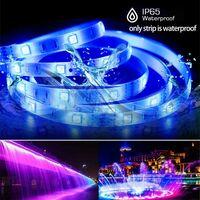 LITZEE Bande lumineuse LED RGB, Ruban LED 10M avec 300 LED de lumière, Bande Auto-adhésive Télécommandée IP65 imperméable pour Mur Arrière Party