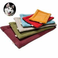 Beige S Cute Cozy Pet Dog Soft Bed