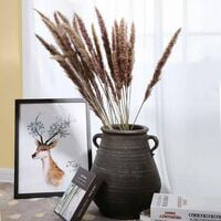 LITZEE 30 piezas de hierba de pampas, ramo de flores secas de flores de pampas naturales de 60 cm para jarrones, decoración boho, dormitorio, hogar, sala de estar, decoración de mesa para fotografiar bodas
