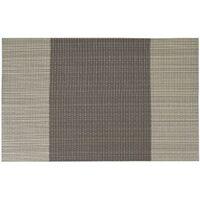 LITZEE Set di 6 Tovagliette in PVC Lavabile Antiscivolo Ecologico, 30 x 45 cm - Coffee Stripe