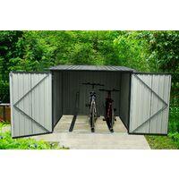 Armoire 3 vélos Arth 3,2 m2 - Garantie 10 ans - 204x163x163cm