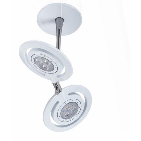Diseño 15 W de techo habitaciones luz focos LED regulable Philips blanco
