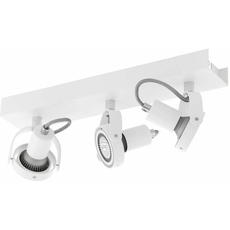 Lámpara de techo LED proyector móvil residencial dormitorio iluminación lámpara de diseño spot  Eglo 94648
