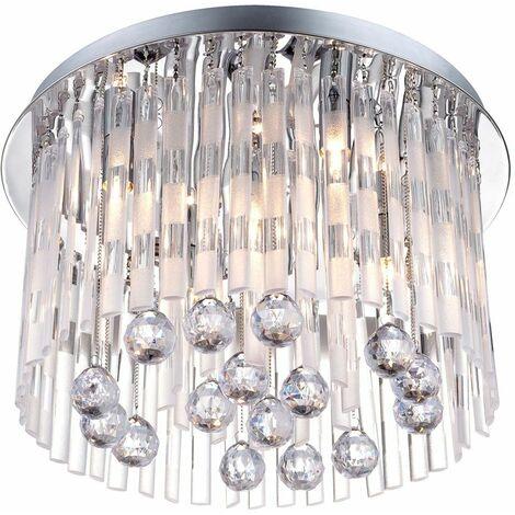 cristales lámpara colgante Lámpara Lámpara de acrílico Lámpara de techo Globo Jolina 68344-5