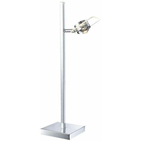 5 vatios de escritura del LED lámpara de mesa puesto en la rotación la placa de cristal de la lámpara Globo 56218-1T