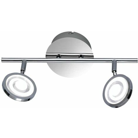 Lámpara de techo LED para comedor, foco, barra, barra, carril de luz, ajustable  Wofi 7224.02.01.0000