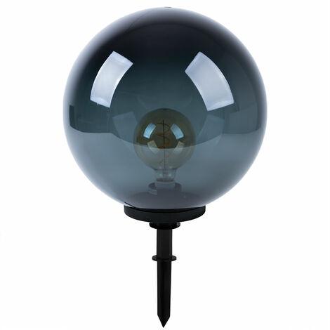 Enchufe exterior lámpara de punta de tierra lámpara de jardín de bolas MANDO A DISTANCIA en un conjunto que incluye iluminación LED RGB