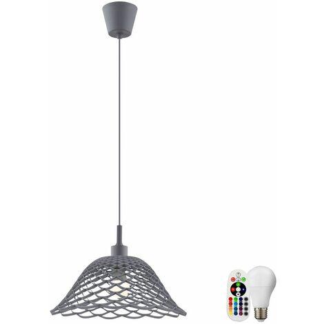 lámparas suspendidas cocina lámpara colgante Dimmer Atenuador Set incl. LED RGB