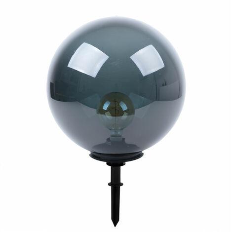 Diseño de lámpara de bola para exteriores, lámpara de enchufe regulable, control remoto de humo de terraza en un conjunto que incluye iluminación LED RGB
