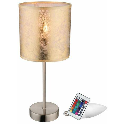 Beistell color de lámpara de pie mesa de escribir cambiando regulable en conjunto incluyendo RGB LED lámparas