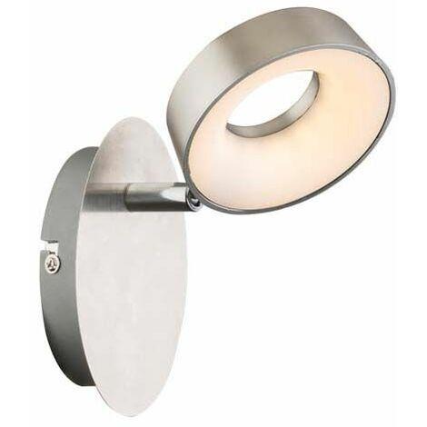 Lámpara de pared LED, punto de luz, iluminación móvil, sala de estar, dormitorio, pasillo