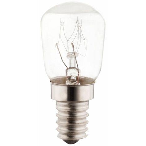Bombillas E14 Bombilla halógena de horno de 15 vatios Lámpara de 2300K Lámpara de 70 lúmenes Luz de velas 300 °  Globo 11416B