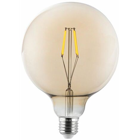 Bombilla de bola de filamento LED vintage Lámpara de 320 lúmenes Bombilla E27 luz retro 4 vatios