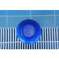 Siqua Dispensador Cloro Flotante para Piscinas Pequeñas. Dosificador automático de cloro para piscinas, Kit Mantenimiento Piscinas y Spa.