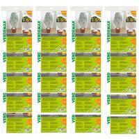 Verdemax 20 pezzi velo cappuccio di protezione in tnt 30 gr/mq bianco ciascuno metri 1x1,6