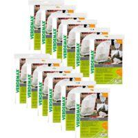 Verdemax 30 pezzi cappuccio di protezione in tnt 17 gr/mq bianco ciascuno da metri 1,5x8