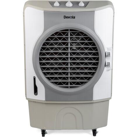 Devola 60L Evaporative Swamp Air Cooler 80m² White/Grey - DVCO60P