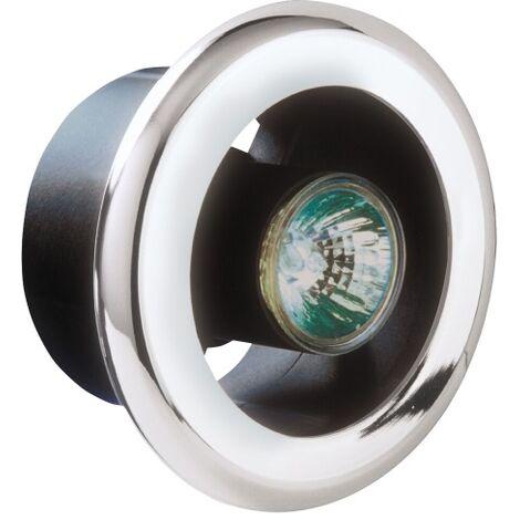 Manrose SL-C 100mm 12V Chrome Shower Light