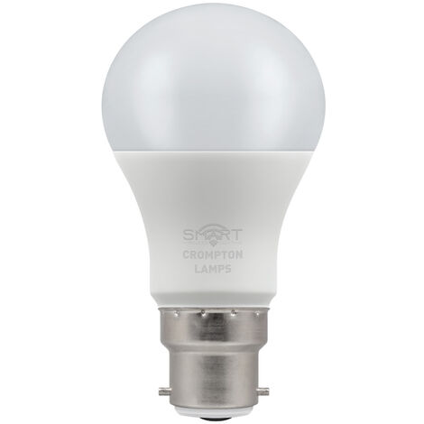 Crompton Lamps LED Smart GLS 8.5W Dimmable 3000K BC-B22d - CROM12301