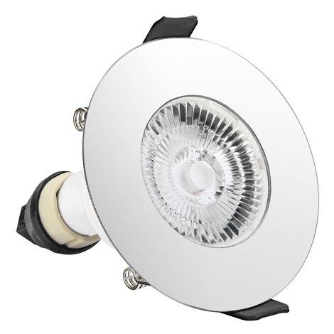 Integral Evofire Round IP65 LED Downlight Polished Chrome with GU10 Holder - ILDLFR70D017