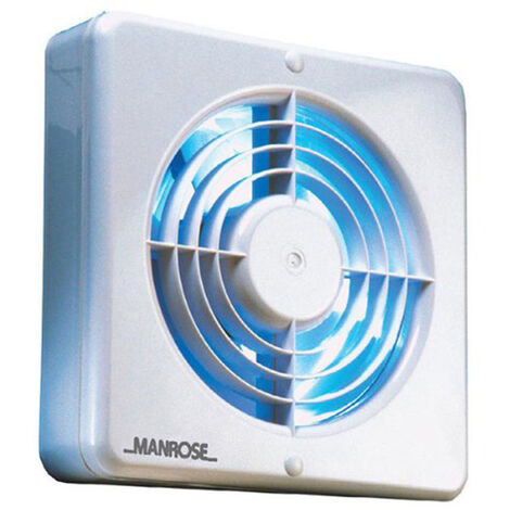 Manrose XF150BH 150mm (6inch.) Axial Extractor Fan with Humidity Control
