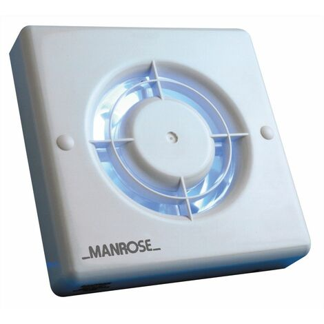 Manrose XF100T 100mm Bathroom Extractor Fan with Timer