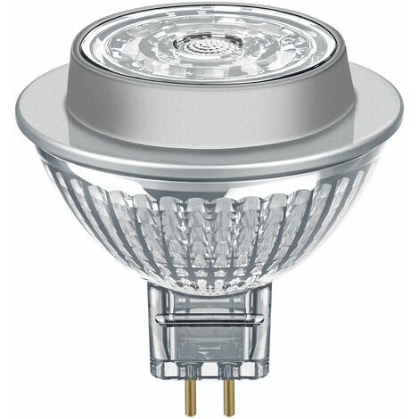 Osram 7.8W Parathom Clear LED Spotlight MR16 Dimmable Very Warm White - 095120-449466