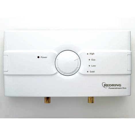 Redring 45673201 Powerstream Eco Unvented Instantaneous Water Heater 9.5kW - RP1E