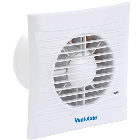 Vent Axia Lo-Carbon Silhouette 4 Inch Slimline Low Energy Bathroom Extractor Fan - 441624