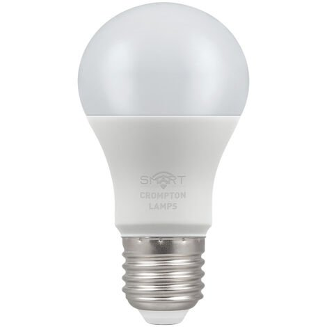 Crompton Lamps LED Smart GLS 8.5W Dimmable 3000K ES-E27 - CROM12318
