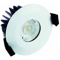 Integral 6W Dimmable Integrated Downlight IP65 Warm White - ILDLFR70B001
