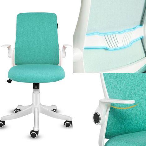 Sedia da ufficio in rete con sedili girevoli e supporto ...