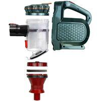 SAMBA-Aspirateur balai sans fil Rouge. Brosse motorisée flexible 180º, lumière LED, 2 niveaux de puissance, buse combinée, 150W - Rouge