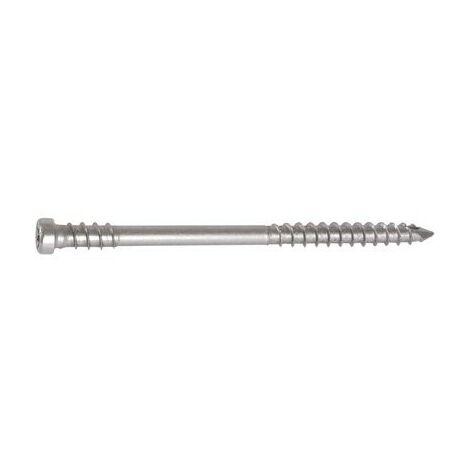 Vis Spax-D tête cylindrique, spécial caillebotis inox A2 Vendu par 100 L/LF (mm) 80/37.5